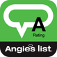 Angie's List Super Service Award - A Rating